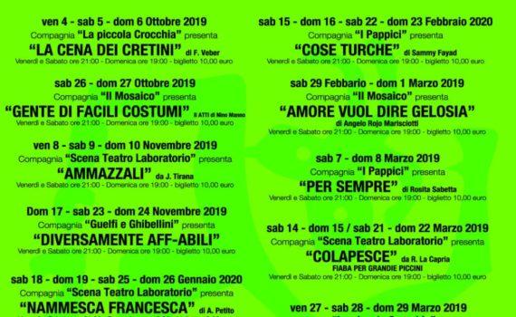 Cartellone 2019.2020